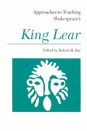 Approaches to Teaching Shakespeare s King Lear