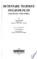 Dictionnaire technique anglais-français