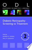 Diabetic Retinopathy  Screening to Treatment 2E  ODL