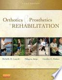 Orthotics and Prosthetics in Rehabilitation Book