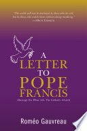 A Letter to Pope Francis
