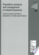 Population Pressure and Management of Natural Resources Book
