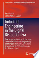 Industrial Engineering in the Digital Disruption Era