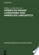 American Indian Languages And American Linguistics