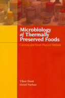 Microbiology of Thermally Preserved Foods