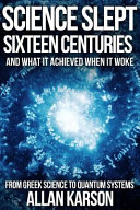 Science Slept Sixteen Centuries Book PDF