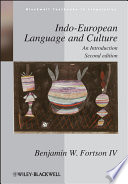 Indo European Language And Culture