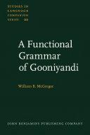 A Functional Grammar of Gooniyandi