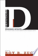 Devotions for Kindred Spirits Book