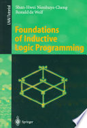 Foundations Of Inductive Logic Programming Book PDF