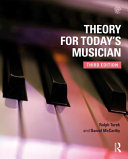 Theory for Today s Musician Textbook  Third Edition