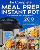 Meal Prep Instant Pot Cookbook