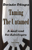 Taming the Untamed