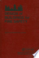 Design of Buildings for Fire Safety Pdf/ePub eBook