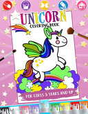 Unicorn Coloring Book for Girls 3 Years and Up