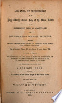 Journal of Proceedings,including the Annual Reports of Its Officers and Statistical Tables from 1821,to 1862