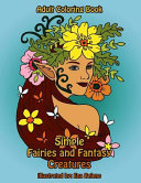 Simple Fairies And Fantasy Creatures Coloring Book