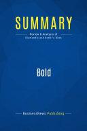 Summary  Bold