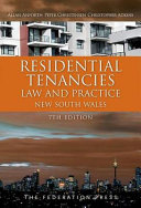 Cover of Residential Tenancies Law and Practice