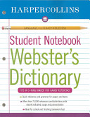 Harpercollins Student Notebook Webster s Dictionary
