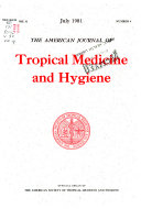 The American Journal Of Tropical Medicine And Hygiene Book PDF