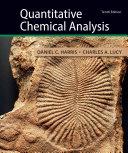 Quantitative Chemical Analysis Book PDF
