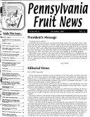 Pennsylvania Fruit News Book