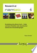 Herstellung ultra-dünner hoch-εr Oxide und deren Verhalten unter dynamischen elektrischen Stressbedingungen