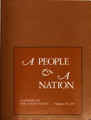 A People and a Nation Book