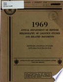 Annual Department of Defense Bibliography of Logistics Studies and Related Documents Pdf/ePub eBook
