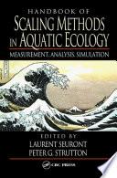 Handbook Of Scaling Methods In Aquatic Ecology