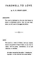 Farewell to Love Book PDF