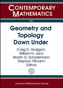 Geometry and Topology Down Under