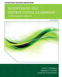 Supervision and Instructional Leadership   Video enhanced Pearson Etext Access Card