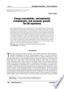 Energy consumption, environmental contaminants, and economic growth: The G8 experience