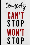 Comedy Can t Stop Won t Stop Book