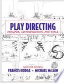 Play Directing Book PDF