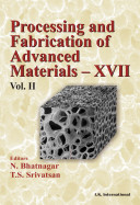 Processing and Fabrication of Advanced Materials  XVII  Part 8  Polymer based composites and nano composites  Volume Two