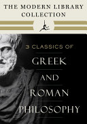 The Modern Library Collection of Greek and Roman Philosophy 3-Book Bundle Pdf/ePub eBook