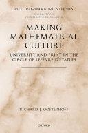 Making Mathematical Culture