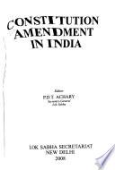 Constitution Amendment in India