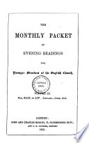 the monthly packet of evening readings. volume ix.