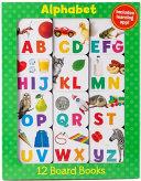 Alphabet 12 Mini Board Books