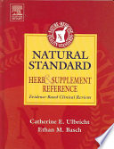 Natural Standard Herb & Supplement Reference