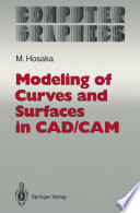 Modeling of Curves and Surfaces in CAD CAM