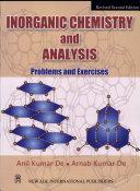 Inorganic Chemistry and Analysis