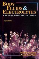 Body Fluids   Electrolytes