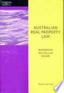Australian Real Property Law