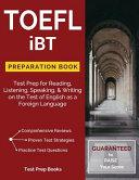 TOEFL IBT Preparation Book