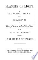 Forty Seven Identifications Of The British Nation With The Lost Ten Tribes Of Israel0 Book PDF
